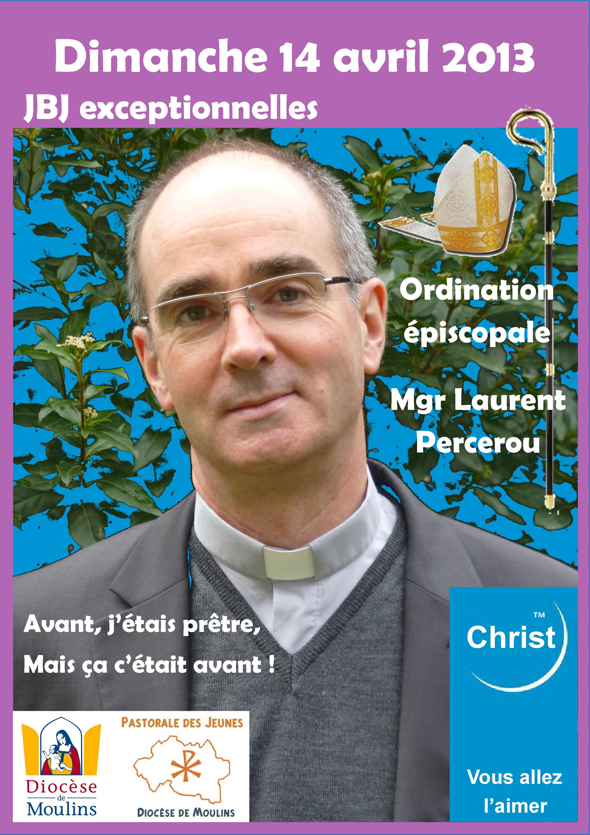 Affiche ordination Mgr Percerou