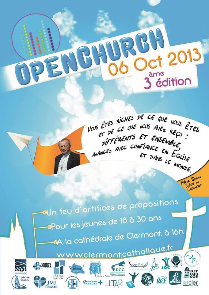 Open Church à Clermont