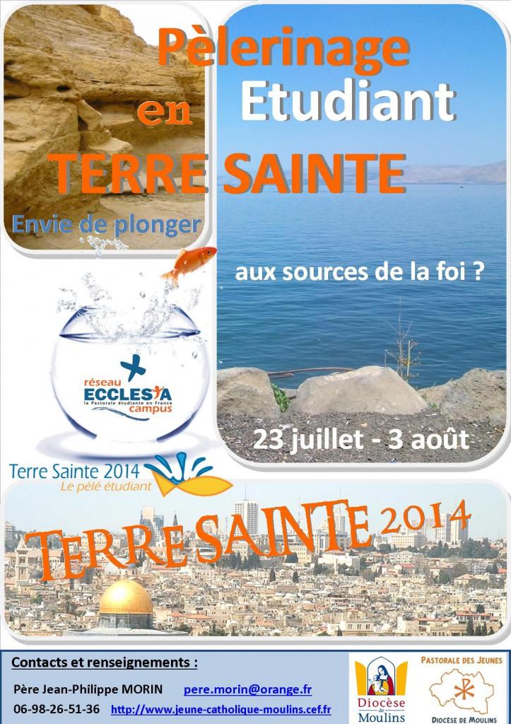 Affiche Terre sainte 2014 définitive