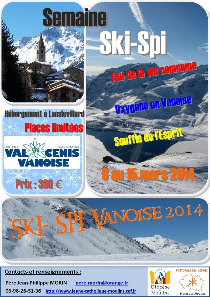 Affiche Ski-Spi 2014 bis