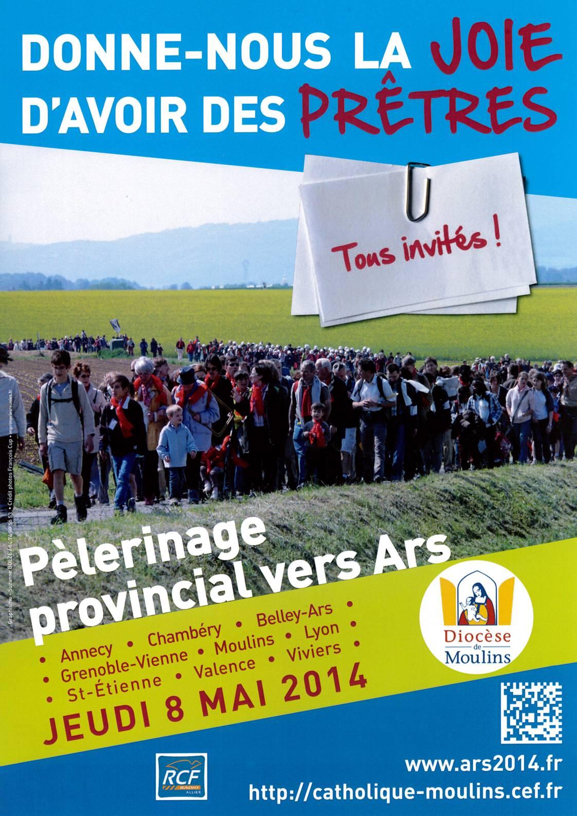 Pèlerinage provincial vers Ars