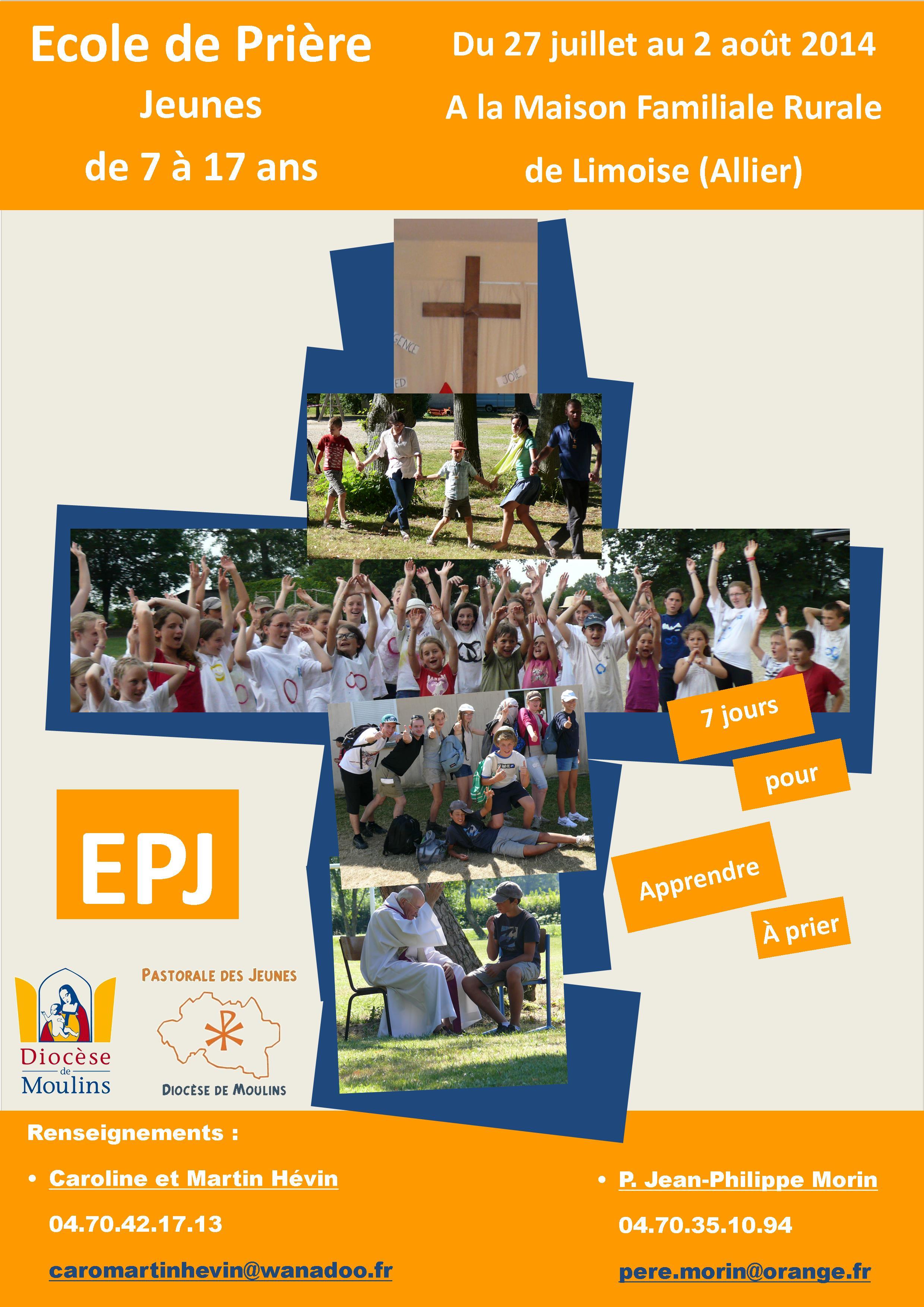 Ecole de Prière Jeunes