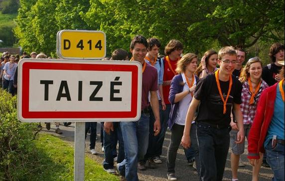 INSCRIPTION AU GRAND RASSEMBLEMENT DE TAIZE - du 21 au 25 oct 2018 -
