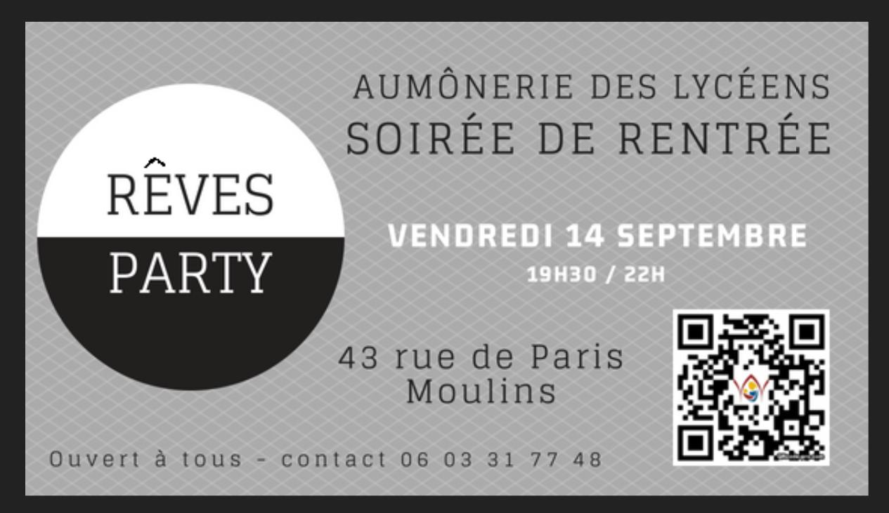 Aumônerie des Lycéens de Moulins