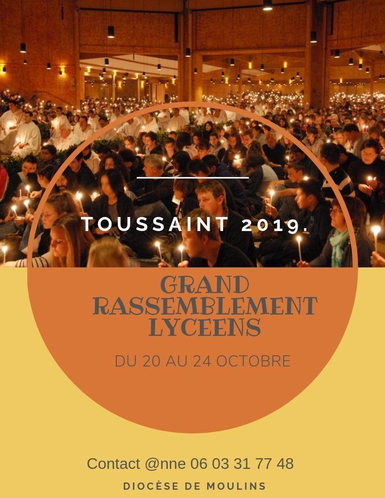 3000 lycéens à Taizé à la Toussaint ! & toi ?