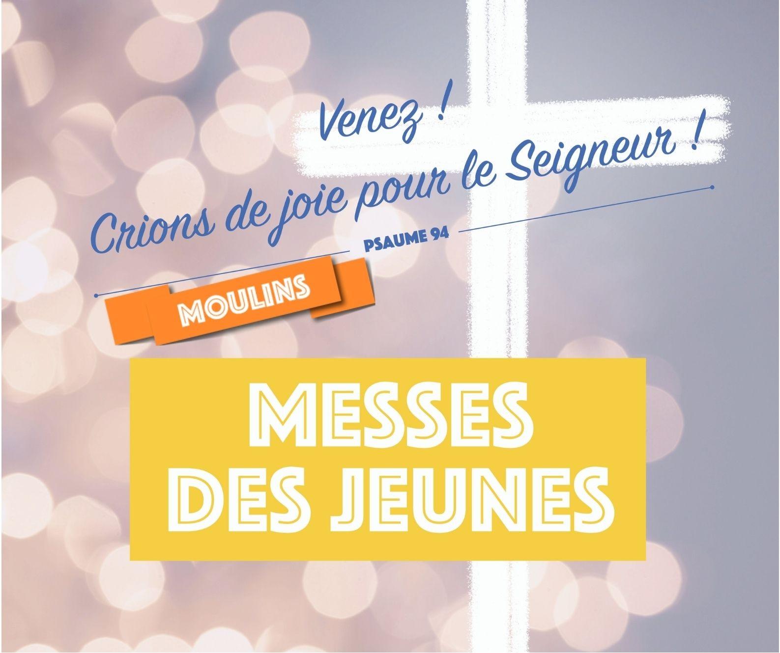 La messe des aumôneries de Moulins