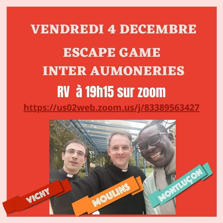 ESCAPE GAME INTER AUMONERIES