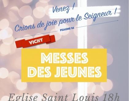 Messe des jeunes à Vichy