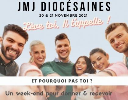 JMJ diocésaines : un we pour donner & recevoir