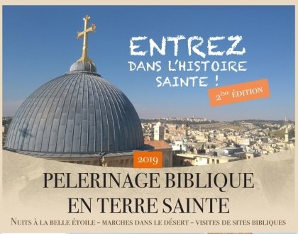 Pélerinage en Terre Sainte avec le Père Yves MOLIN
