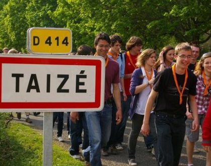 INSCRIPTION AU GRAND RASSEMBLEMENT DE TAIZE – du 21 au 25 oct 2018 –