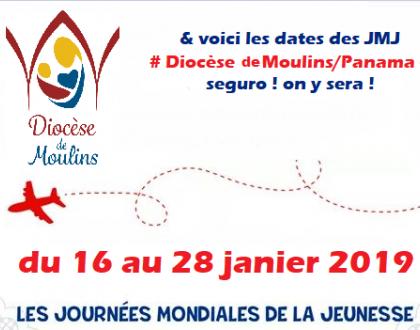 le diocèse de Moulins au JMJ de Panama !