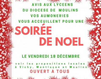 Soirée de Noël Moulins